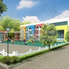 幼儿园3d模型下载