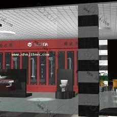 展示厅3d模型下载
