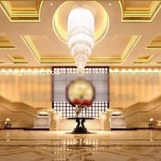 酒店水晶灯大堂3d模型下载