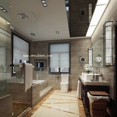 洗手间3d模型下载