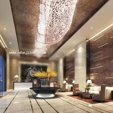 现代酒店3d模型下载