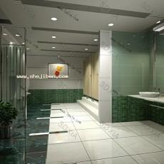 卫生间天花板3d模型下载