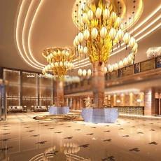 酒店大厅服务台3d模型下载
