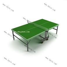 兵乓球桌3d模型下载