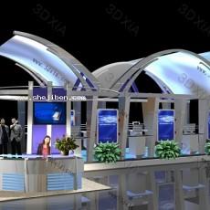 展示厅设计3d模型下载