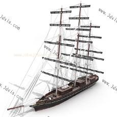 船3d模型下载