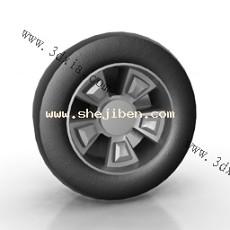 轮胎3d模型下载