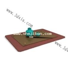 毛笔3d模型下载
