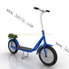 电动车3d模型下载