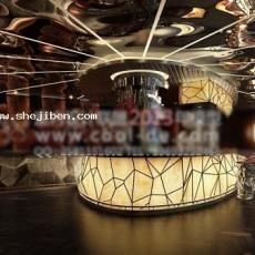 酒吧服务台3d模型下载