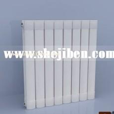 外包暖气设备3d模型下载