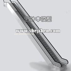 扶手电梯3d模型下载