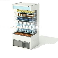 商场超市专柜3d模型下载