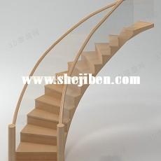 楼梯3d模型下载