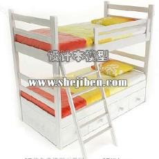 儿童床323d模型下载