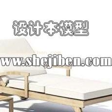 户外休闲家具3d模型下载