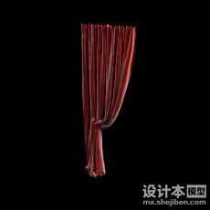 窗帘3d模型下载