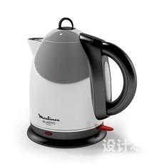 电热水壶犀牛3d模型下载