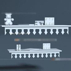 装饰架3d模型下载