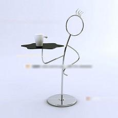 铁艺桌子3d模型下载
