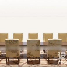 12人用餐桌3d模型下载