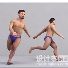 人体建模3d模型下载