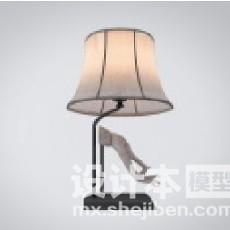 中式灯3d模型下载