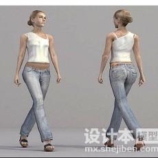 服装店模3d模型下载