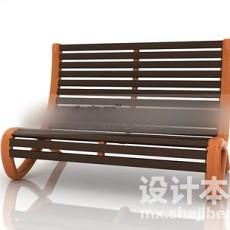 户外休闲椅子3d模型下载