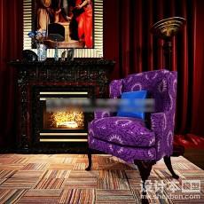 布艺沙发3d模型下载