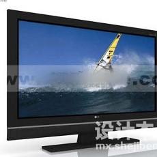 lg电视3d模型下载