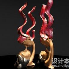 装饰品3d模型下载