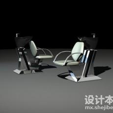 洗头椅3d模型下载