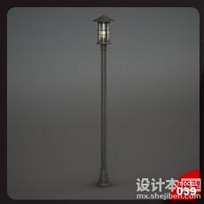 室外灯3d模型下载