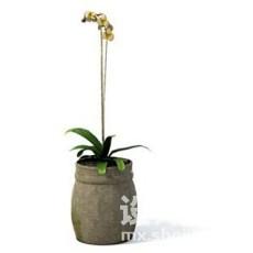 室内植物3d模型下载