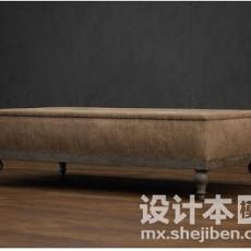 休闲沙发8093d模型下载