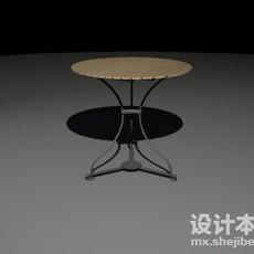 铁艺桌3d模型下载