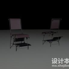 铁艺椅3d模型下载