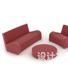 沙发组合3d模型下载