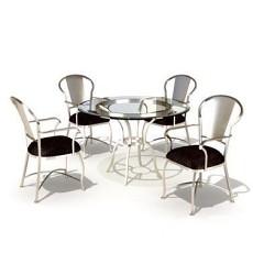 现代洽谈桌椅3d模型下载