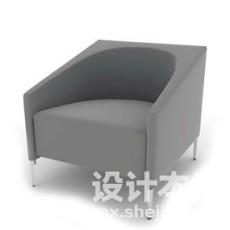 单人沙发3d模型下载