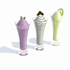 冰淇淋3d模型下载