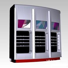 商业展台3d模型下载