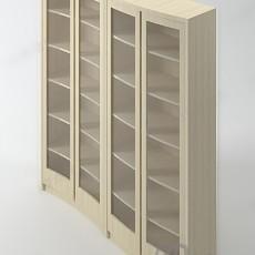 书柜3d模型下载