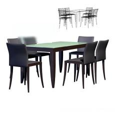 桌椅3d模型下载