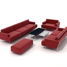 组合沙发3d模型下载