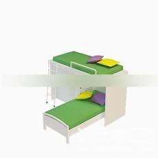 儿童床3d模型下载