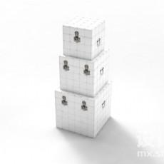 装饰盒3d模型下载
