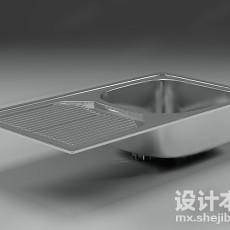 洗菜池3d模型下载