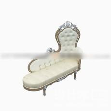 时尚躺椅3d模型下载